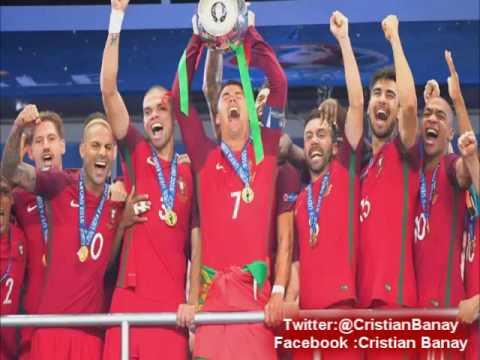 (Relato Emocionante) Portugal 1 Francia 0 (Rtp De Portugal) Eurocopa 2016
