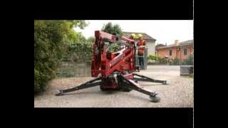 HINOWA Lightlift 17.75 Performance IIIS Compact Crawler Booms - Access Platform