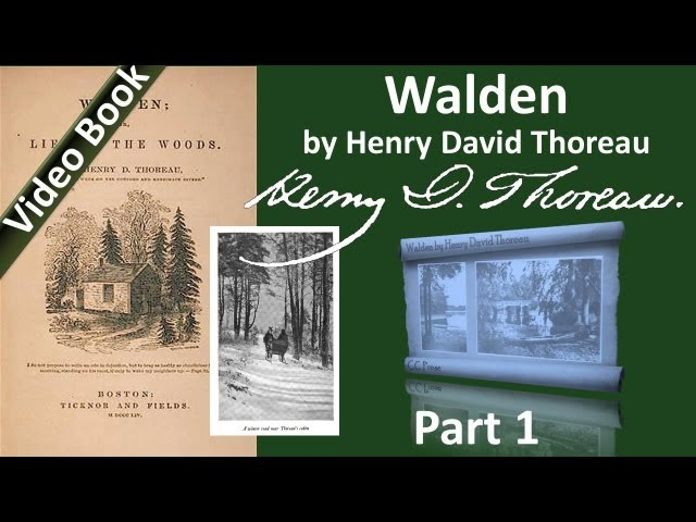 Part 1 - Walden Audiobook by Henry David Thoreau (Ch 01)
