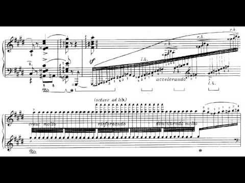 Hungarian Rhapsody #2 with Sheet Music (Hamelin) [1/2]