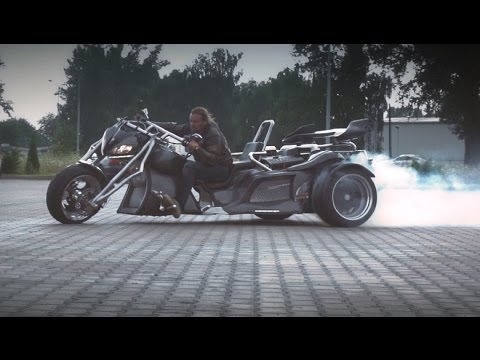 Kaszpir Trike V8 Construction HD