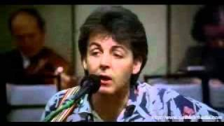 Watch Paul McCartney For No One video
