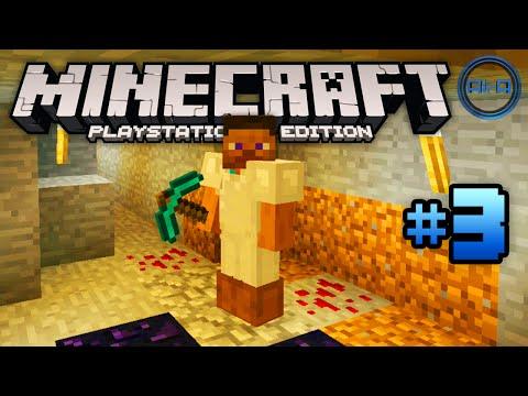 Minecraft PS4 gameplay Part 3 -