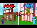 Minecraft NOOB vs. PRO: SECURE BANK in Minecraft!