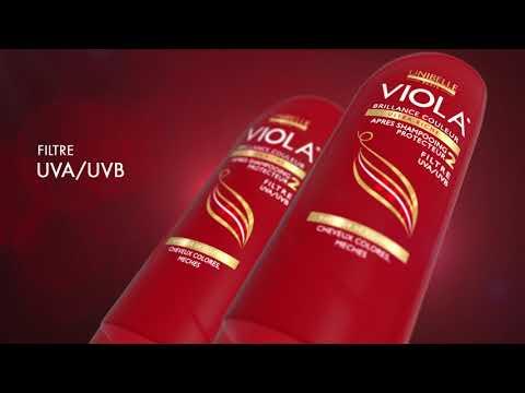 APRES SHAMPOING PROTECTEUR VIOLA #FILTRE UVA/UVB