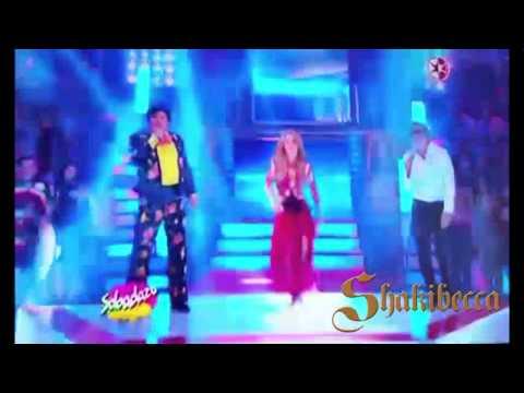 Juan Gabriel, Luis Miguel y Shakira - Bailando en Sabadazo La Tos México 13/09/2014
