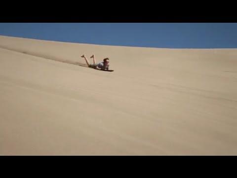 Desert Sand Boarding - Homoksiklás a sivatagban