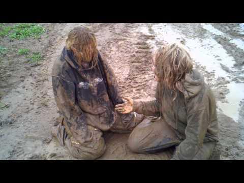 A+ Women Mud Wrestling