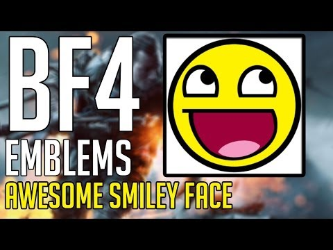 BF4 Emblems: Awesome Smiley Face