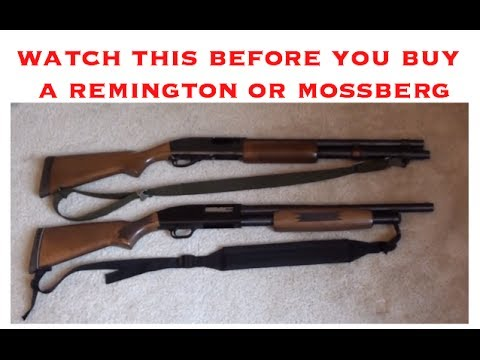Which is better? Remington 870 VS Mossberg 500 - a non biased look