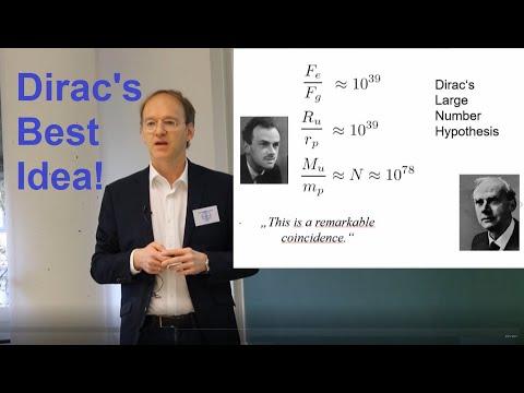 Dirac's Large Numbers in Einstein-Dicke Cosmology