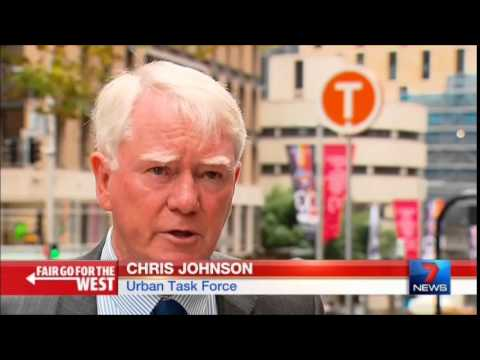 Seven News Sydney - Circle Metro Train Line proposal (4/3/2015)