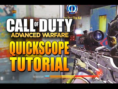 How to Quick Scope in Advanced Warfare - Quickscoping Tutorial (Sniping & Quick Scoping)