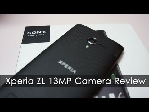 Sony Xperia ZL 13 MP Camera Review