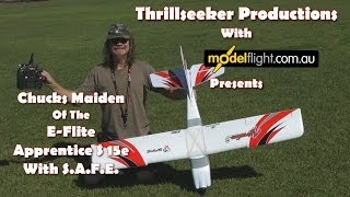 E-Flite Apprentice S 15e So You Want To Learn To Fly? The Maiden