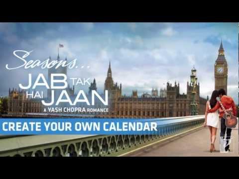 SEASONS - Calendar App - Jab Tak Hai Jaan