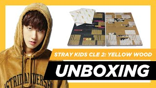 ✨[UNBOXING] Stray Kids - Clé 2: Yellow Wood ~ (Clé & Yellow Wood ver.) ✨