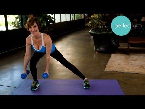 Tập thể dục giảm béo với tạ tay 2