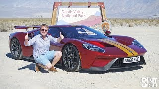 Ford GT in Death Valley! Senna and AMG GT R Pro UPDATE