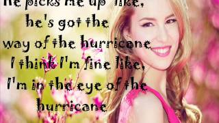 Bridgit Mendler - Hurricane (Lyrics On Screen)