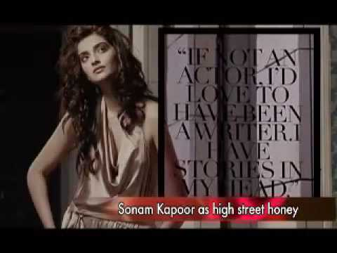 Sultry Sonam Kapoor sizzles on a fashion magazine