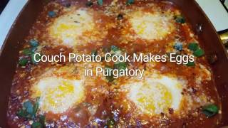 Making Eggs in Purgatory | CouchPotatoCook.com
