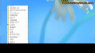 Windows 8 Tip #1 Access Programs quick with one click!