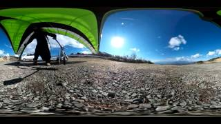 "2015 1/31 Flight in Tanna. ""Take off"" (YouTube 360-degree Movie)"