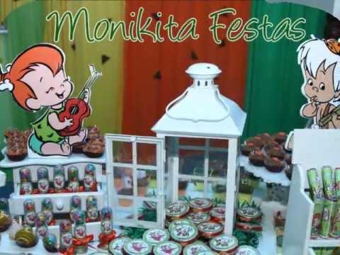 FESTA PEDRITA E BAMBAM Os Flinstones) By Monikita festas ...