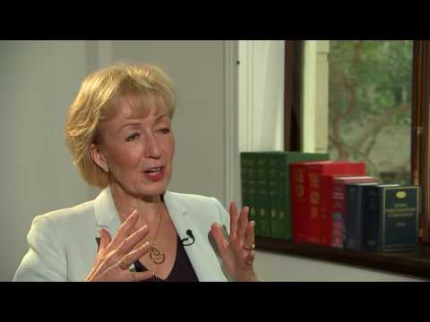 Conservative Leadership: Andrea Leadsom on Brexit, Mark Carney and her City CV
