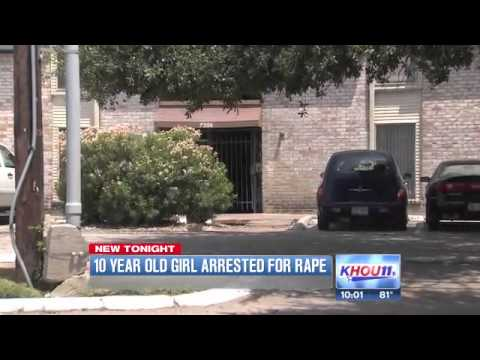 10-year-old Girl Arrested For Allegedly Raping 4-year-old Boy - Houston, Texas video