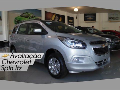 Avaliação Chevrolet Spin Ltz   Curiosidade Automotiva®
