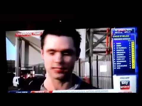 LFC fan on Sky Sports News