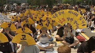 Güney Kore'den Japonya'ya Seks Köleleri öfkesi