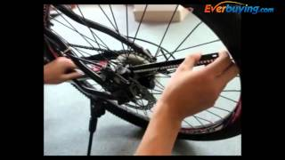 YQ8003 DIY Programmable Bicycle Wheel Light Installation Tutorial