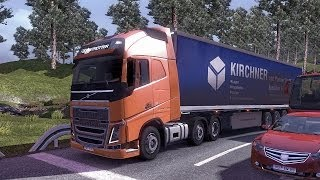 Euro Truck Simulator 2 - The New Volvo FH Series Transporting 18 Tons of Cheese