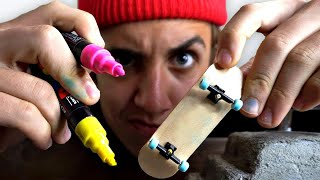 CUSTOM FINGERBOARDS!! (GiVEAWAY)