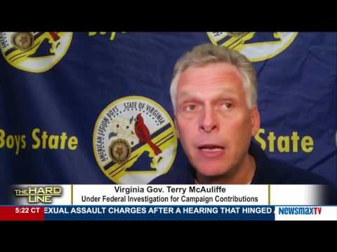 The Hard Line | Michael Patrick Flanagan on Virginia Gov. Terry McAuliffe under FBI investigation