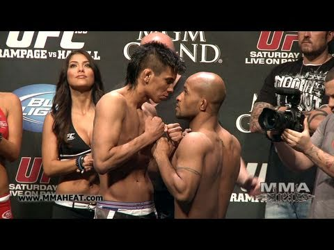 UFC 130: Miguel Torres vs Demetrious Johnson: Weigh-In + Face-Off