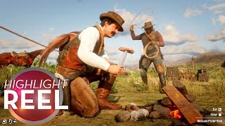 Highlight Reel #443 - Red Dead Online Griefers Thwarted By Invincible Chef