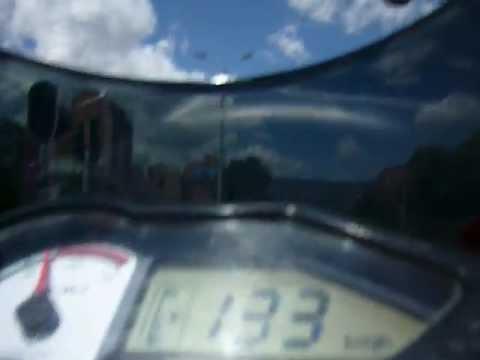 Pulsar 200 Top Speed, Velocidad Maxima 153 KM/H
