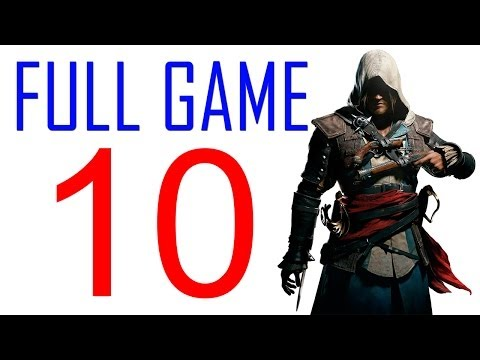 Assassin's creed 4 walkthrough - Part 10 Gameplay Let's play PS4 XBOX PS3 AC4 Black Flag No Commentary