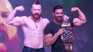 UNCUT Force 2 Movie Promotion With WWE Star Sheamus