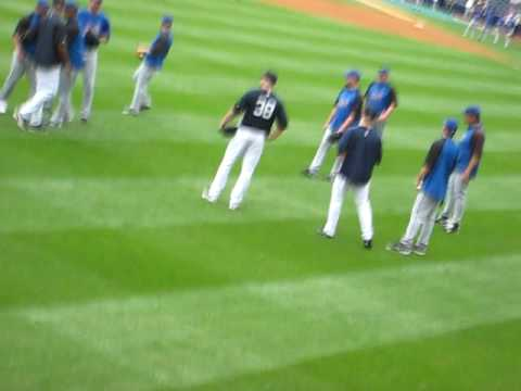 K-Rod, the closer for the NY Mets confronts Brian Bruney in typical low class fashion (while Bruney is standing alone and the entire Mets team is taking the ...
