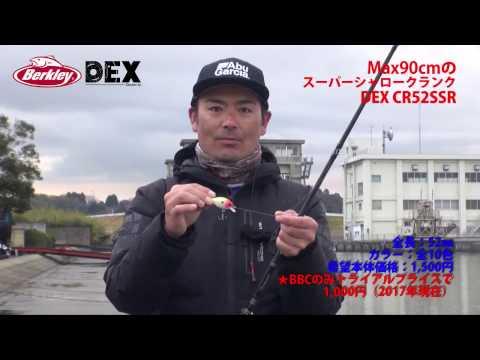 【DEX CR52SSR製品解説Berkley】