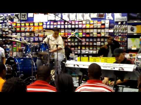 Calvin Rodgers Drum Clinic(guitar center@Chicago) HD