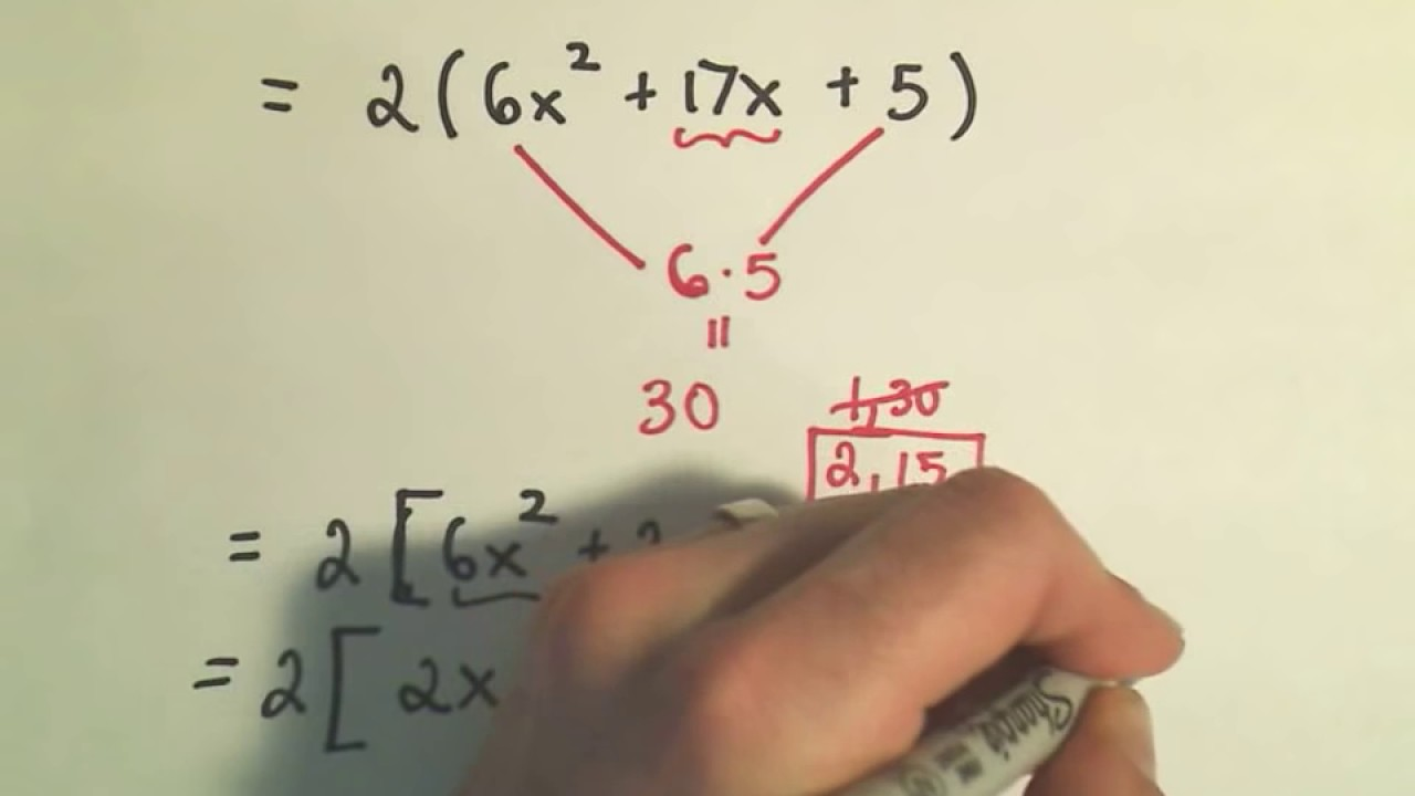 Factoring trinomials a 1 worksheet answers