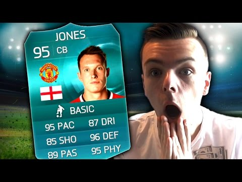 FIFA 15 - 95 RATED PHIL JONES ULTIMATE TEAM VS ROSSIHD!