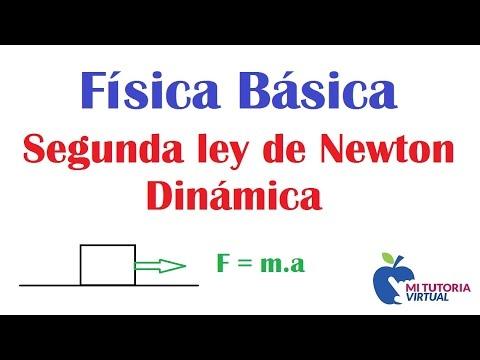 Segunda Ley de Newton - Dinamica - Problema de Aplicacion