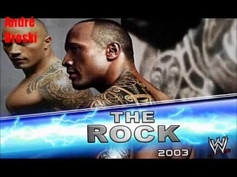 Wwe - The Rock Theme Songs Montage 1996-2011 (hd Screen) video
